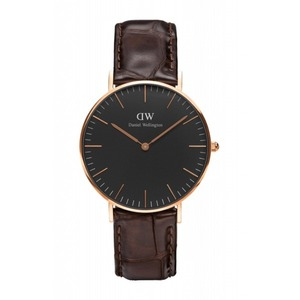 Daniel Wellington(ダニエルウェリントン)CLASSIC BLACK Rose gold 36mm York