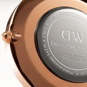 Daniel Wellington(ダニエルウェリントン)CLASSIC BLACK Rose gold 36mm York