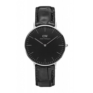 Daniel Wellington(ダニエルウェリントン) CLASSIC BLACK Silver 36mm Reading