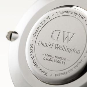 Daniel Wellington(ダニエルウェリントン) CLASSIC BLACK Silver 36mm Reading