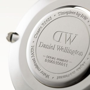Daniel Wellington(ダニエルウェリントン) CLASSIC BLACK Silver 36mm Bristol