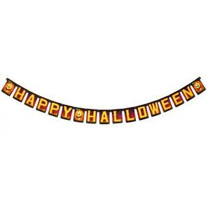 RUBIE'S(ルービーズ) 96inch Paper Pumpkin Banner(96インチ ペーパー パンプキン バナー) - 拡大画像