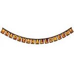 RUBIE'S(ルービーズ) 96inch Paper Pumpkin Banner(96インチ ペーパー パンプキン バナー)