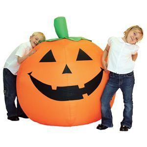 【コスプレ】 RUBIE'S(ルービーズ) HALLOWEEN(ハロウィン) Blow Up Big Pumpkin(ブロー アップ ビッグ パンプキン) - 拡大画像
