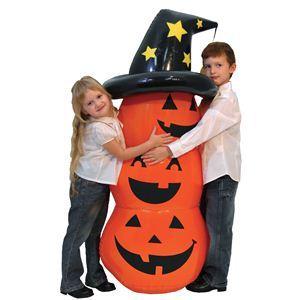 【コスプレ】 RUBIE'S(ルービーズ) HALLOWEEN(ハロウィン) 4ft Rocking Pumpkin(4フィート ロッキング パンプキン) - 拡大画像