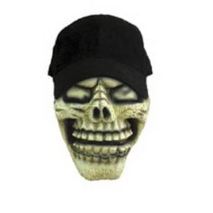 【コスプレ】 RUBIE'S(ルービーズ) ACCESSORY(アクセサリー) マスク(コスプレ) Skull Cap Mask(スカル 帽子 マスク) - 拡大画像