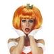 RUBIE'S(ルービーズ) ACCESSORY(アクセサリー) アクセサリ(コスプレ) Pumpkin Wig(パンプキン ウィッグ)