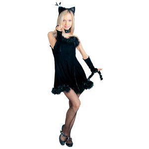 RUBIE'S(ルービーズ) SECRET WISHES(シークレットウィッシーズ) コスプレ Kissable Kitty (キッサブル キティー) Stdサイズ - 拡大画像