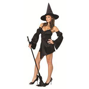 【コスプレ】 RUBIE'S(ルービーズ) SECRET WISHES(シークレットウィッシーズ) コスプレ Black Cauldron Witch(ブラック カールドラン ウィッチ) Stdサイズ - 拡大画像