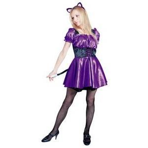 【コスプレ】 RUBIE'S(ルービーズ) ADULT(アダルト) コスプレ Purple Sexy Cat(パープル セクシー キャット) stdサイズ - 拡大画像