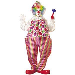 【コスプレ】 RUBIE'S(ルービーズ) ADULT(アダルト) コスプレ Snazzy Clown(スネージー クラウン) Stdサイズ - 拡大画像