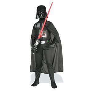 【コスプレ】 RUBIE'S(ルービーズ) STAR WARS(スターウォーズ) コスプレ Child Better Darth Vader(ダース・ベイダー) Mサイズ - 拡大画像
