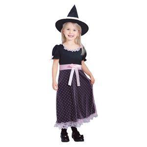 【コスプレ】 RUBIE'S(ルービーズ) CHILD(チャイルド) コスプレ Pinkish Witch(ピンキッシュ ウィッチ) Sサイズ - 拡大画像