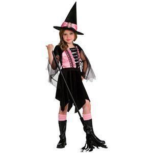 【コスプレ】 RUBIE'S(ルービーズ) CHILD(チャイルド) コスプレ Glamour Witch(グラマー ウィッチ) Sサイズ - 拡大画像