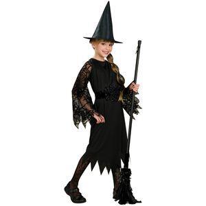RUBIE'S(ルービーズ) CHILD(チャイルド) コスプレ Witch(ウィッチ) Sサイズ - 拡大画像
