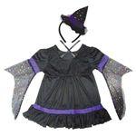 【コスプレ】 RUBIE'S(ルービーズ) CHILD(チャイルド) コスプレ Purple Twinkle Witch(パープル トゥウィンクル ウィッチ) Mサイズ