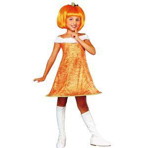 【コスプレ】 RUBIE'S(ルービーズ) CHILD(チャイルド) コスプレ Pumpkin Spice(パンプキン スパイス) Sサイズ - 拡大画像