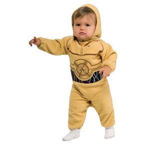 【コスプレ】 RUBIE'S(ルービーズ) STAR WARS(スターウォーズ) コスプレ Baby C-3PO(C-3PO) Todサイズ(キッズ・子供用) - 拡大画像