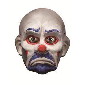【コスプレ】 RUBIE'S(ルービーズ) BATMAN(バットマン) コスプレマスク The Joker Clown DX. Mask (ザ ジョーカー クラウン マスク) - 拡大画像