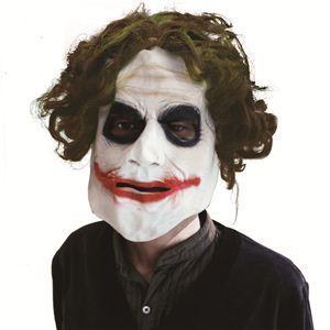 【コスプレ】 RUBIE'S(ルービーズ) BATMAN(バットマン) コスプレ The Joker(ザ・ジョーカー) Adult 3/4 Mask With Hair - 拡大画像