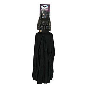 【コスプレ】 RUBIE'S(ルービーズ) BATMAN(バットマン) コスプレ Child Batman Cape & Mask Set(バットマン 肩マント & マスク セット) - 拡大画像