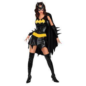 【コスプレ】 RUBIE'S(ルービーズ) BATMAN(バットマン) コスプレ Adult Batgirl(バットガール) Stdサイズ - 拡大画像