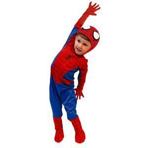 【コスプレ】 RUBIE'S(ルービーズ) SPIDER MAN(スパイダーマン) コスプレ Kids Spiderman(スパイダーマン) Todサイズ - 拡大画像