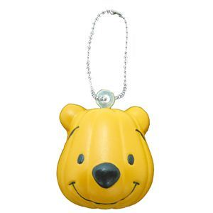 RUBIE'S(ルービーズ) DISNEY(ディズニー) おもちゃ Pumpkin Pooh Squeeze Ball Chain(パンプキン プー スクウィーズ ボール チェーン)24個セット - 拡大画像