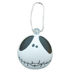 RUBIE'S(ルービーズ) DISNEY(ディズニー) おもちゃ Jack Skellington Squeeze Ball Chain(ジャック スケリントン スクウィーズ ボール チェーン)24個セット - 拡大画像