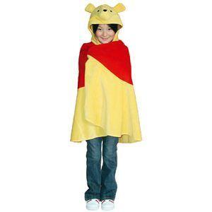 【コスプレ】 RUBIE'S(ルービーズ) DISNEY(ディズニー) コスプレ CHARACTER CAPE(キャラクター ケープ)シリーズ Pooh Cape(プー 肩マント) - 拡大画像