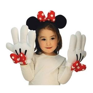 【コスプレ】 RUBIE'S(ルービーズ) DISNEY(ディズニー) 手ぶくろ(コスプレ) Minnie Headband & Glove Set(ミニー ヘドバンド & グローブ セット) - 拡大画像