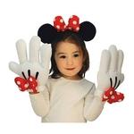 【コスプレ】 RUBIE'S(ルービーズ) DISNEY(ディズニー) 手ぶくろ(コスプレ) Minnie Headband & Glove Set(ミニー ヘドバンド & グローブ セット)