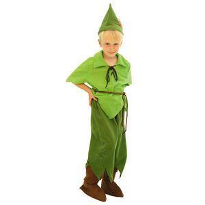 【コスプレ】 RUBIE'S(ルービーズ) DISNEY(ディズニー) コスプレ ピーターパンシリーズ Child Peter Pan(ピーター・パン) Todサイズ(キッズ・子供用) - 拡大画像
