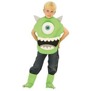 【コスプレ】 RUBIE'S(ルービーズ) DISNEY(ディズニー) コスプレ Monsters Inc.(モンスターズ・インク)シリーズ Child Mike(マイク) Sサイズ - 拡大画像