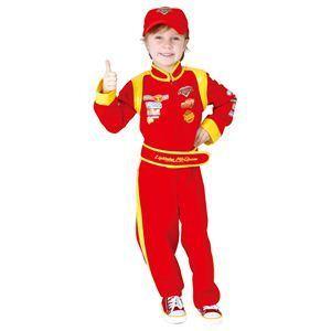 【コスプレ】 RUBIE'S(ルービーズ) DISNEY(ディズニー) コスプレ Cars(カーズ)シリーズ Child Mc. Queen(Mc. クイーン) Todサイズ - 拡大画像