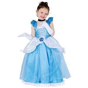 【コスプレ】 RUBIE'S(ルービーズ) DISNEY(ディズニー) コスプレ PRINCESS(プリンセス)シリーズ シンデレラ Child Dx Cinderella(チャイルド シンデレラ) Mサイズ - 拡大画像