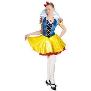 【コスプレ】 RUBIE'S(ルービーズ) DISNEY(ディズニー) コスプレ PRINCESS(プリンセス)シリーズ 白雪姫 Adult DX Snow White(アダルト スノウ ホワイト) Stdサイズ - 拡大画像