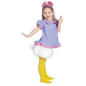 【コスプレ】 RUBIE'S(ルービーズ) DISNEY(ディズニー) コスプレ Child Daisy (デイジー) Sサイズ - 拡大画像