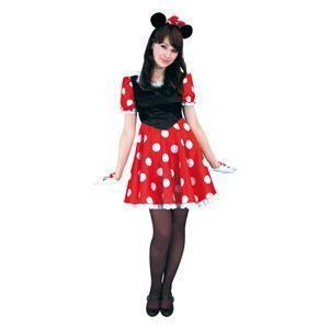 RUBIE'S(ルービーズ) DISNEY(ディズニー) コスプレ Adult Pretty Minnie(プリティー ミニー) Stdサイズ