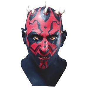 RUBIE'S(ルービーズ) STAR WARS(スターウォーズ) マスク(コスプレ用) Darth Maul Latex Mask(ダース モール ラテックス マスク) - 拡大画像