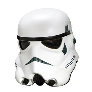 RUBIE'S(ルービーズ) STAR WARS(スターウォーズ) マスク(コスプレ用) Collectors' Helmets Storm Trooper(コレクションズ ヘルメッツ ストーム トルーパー) - 拡大画像