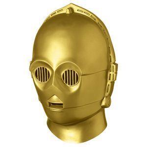 RUBIE'S(ルービーズ) STAR WARS(スターウォーズ) マスク(コスプレ用) Collectors' Helmets C-3PO(コレクションズ ヘルメッツ C-3PO) - 拡大画像