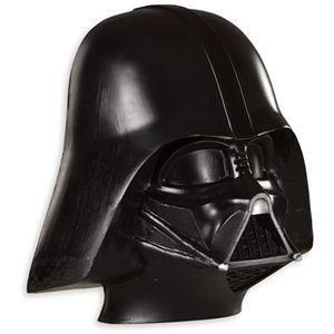 RUBIE'S(ルービーズ) STAR WARS(スターウォーズ) マスク(コスプレ用) Adult Darth Vader Mask(ダース・ベイダー マスク) - 拡大画像