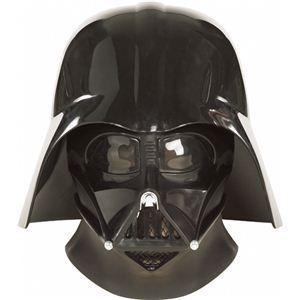 【コスプレ】 RUBIE'S(ルービーズ) STAR WARS(スターウォーズ) マスク(コスプレ用) Super Deluxe Darth Vader 2pc Mask(スーパー ダース・ベイダー 2pc マスク) - 拡大画像