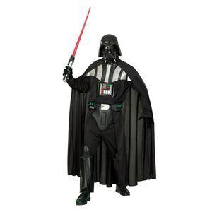 【コスプレ】 RUBIE'S(ルービーズ) STAR WARS(スターウォーズ) コスプレ Adult Deluxe Darth Vader(ダース・ベイダー) Deluxe Costume XL(大きいサイズ) - 拡大画像