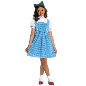 RUBIE'S (ルービーズ) 882095 オズの魔法使い Dorothy(ドロシー)子供用 Lサイズ - 拡大画像
