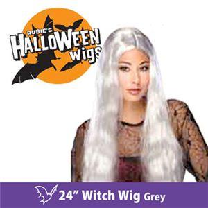 """【コスプレ】 RUBIE'S (ルービーズ) 50702 24"""" Witch Wig -Grey(ウィッグ) - 拡大画像"""