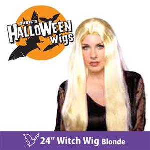 """【コスプレ】 RUBIE'S (ルービーズ) 50701 24"""" Witch Wig - Blonde(ウィッグ) - 拡大画像"""