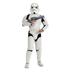 【コスプレ】 RUBIE'S (ルービーズ) スターウォーズ Dlx. Stormtrooper Adult STDサイズ - 拡大画像