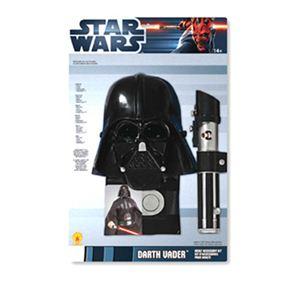 【コスプレ】 RUBIE'S (ルービーズ) 5217 スターウォーズ Adult Darth Vader Blister Set